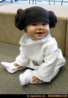 Princesa Leia de bebé | Risa Sin Más