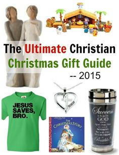 Struggling to figure out what to buy everyone for Christmas this year? Grab everything you need with this Ultimate Christian Christmas Gift Guide for 2015!