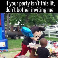 Mickey's gone ratchet