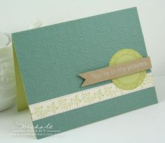 @Donna Lovejoy Pretty and Simple card