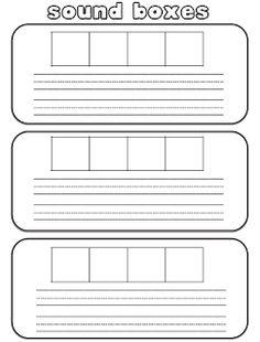 Sound Boxes (a.k.a. Elkonin Boxes)