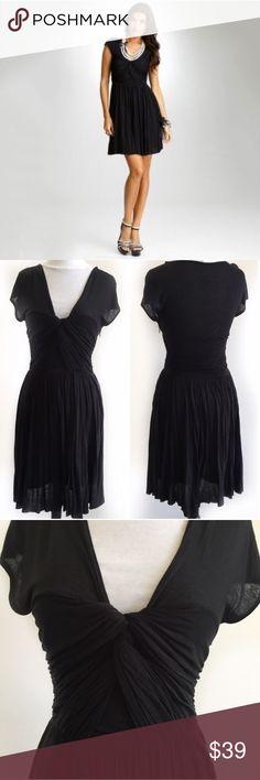 A|X Armani Exchange Twisted Knot Dress / M A|X Armani Exchange black twisted knot dress in a great condition size medium. A/X Armani Exchange Dresses