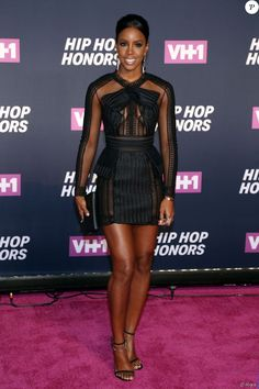 Kelly Rowland- VH1 Hip Hop Honors 2016 auDavid Geffen Hall, au Lincoln Center.New York, le 11 juillet 2016.