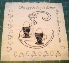 E antique alphabet