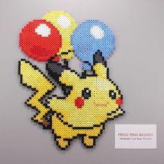 148 Best Perler Beads : Pikachu images in 2019 | Hama bead