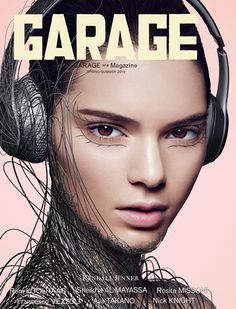 Kendall Jenner's animate-able Garage cover | Source: Garage