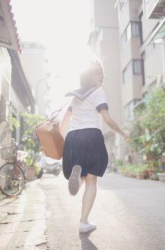 ✓A+~! ♪ - - seifuku - - sailor uniform - - running - - cute
