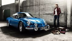Renault Alpine, Oldtimer Calendar by Mirko Frank, via Behance . Automotive Photography, Car Photography, Retro Cars, Vintage Cars, Monte Carlo Car, Alpine Renault, Automobile, Car Magazine, Car Sketch