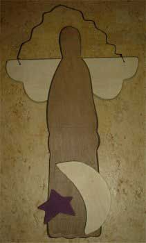 Primitive Handcrafted Angel