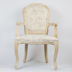 Cadeira Letras Luís XIV | 63 x 62 x 67 cm | A Loja do Gato Preto | #alojadogatopreto | #shoponline | referência 23443220