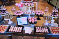 dessert table from best friends for frosting re-launch party at west elm  #WEevents