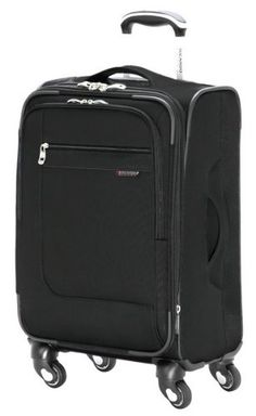Ricardo Beverly Hills Luggage Sausalito Superlight 20 20Inch 4W Expandable Spinner CarryOn Black Medium >>> Find out more about the great product at the image link.