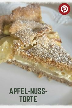 Fancy apple or nut? Recipe - Apple and Nut Cake Ingredients for a Springfo . Nut Recipes, Easy Baking Recipes, Easy Cookie Recipes, Apple Recipes, Sweet Recipes, Cake Recipes, Dessert Recipes, German Baking, Healthy Breakfast Smoothies