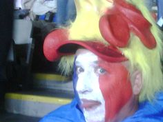 French rooster fans were disappointed, just barely, in the final at Eden Park.