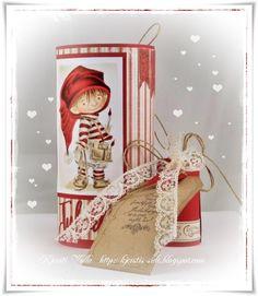 Kjersti's side Mo Manning, Copics, Scrap, Gift Wrapping, Gifts, Gift Wrapping Paper, Presents, Wrapping Gifts, Favors