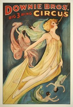 Circus Posters on Pinterest | 40 Pins