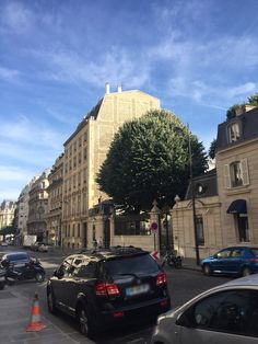 Attractive streetscape. Rue du Faubourg Saint Honoré??
