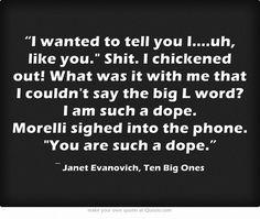 Janet Evanovich Stephanie Plum Quote