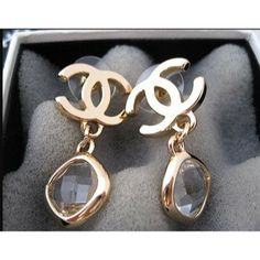 Wow,so gorgeous, it is what I want. Chanel. #ChanelJewelry #Chanel Chanel Jewelry Chanel Earrings CHJ0093 $50