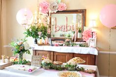 Bloom Baby Bloom Floral & Flower Crown Baby Shower Ideas