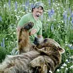 I have found the man I am going to marry! <3  Casey Anderson and Brutus