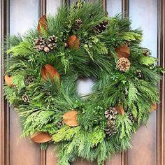 Circle Home and Design Evergreen, Woodland, Christmas Wreaths, Holiday Decor, Design, Home Decor, Decoration Home, Room Decor