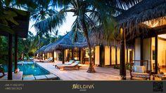 This #beautiful resort provides the setting for a fine #Maldivian escape. #AnantaraKihavah #Maldives #Villas