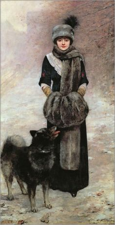 "Poster Leinwandbild ""Portrait of Colette Gervex"" Henri Gervex | eBay"