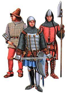 """""""• Handgunner, c. 1360 • Walter von Bopfingen, c. 1360 • Philippe de Saie, esquire"""",  Christopher Rothero"""