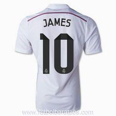 Camiseta de James 10 Real Madrid 1st 2015 baratas