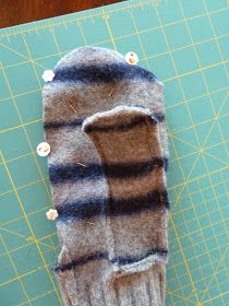 Several weeks back, our 18 year old babysitter was over and I noticed her awesome felted wool mittens. I tried to play it cool, though I wa...