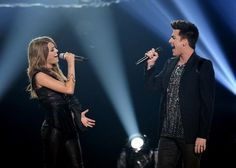 Idol finales best: Adam Lambert lets Angie Miller shine on Titanium (Video)