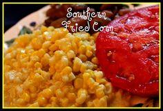 Sweet Tea and Cornbread: Aunt Vels Southern Fried Corn!