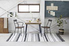 [135cm×200cm]037-Anova_ラグマット(イレギュラーストライプ)(ラグ・マット)【HOME'S Style Market】|おしゃれな家具・インテリアの通販(商品コード:sm-037-05055-MR1562)