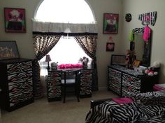 zebra room for the daughter