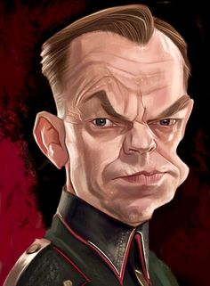 Hugo Weaving by Rafa Caballero