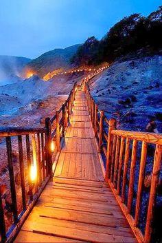 Hell Valley, Noboribetsu, Hokkaido, Japan Explore more travel ideas, travel tips and Japan itineraries @ www.Triphobo.com