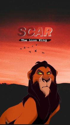 Lion Wallpaper, Disney Phone Wallpaper, Iphone Background Wallpaper, Scar Lion King, Lion King Art, Lion King Villain, Scar Rey Leon, Disney Princess Tattoo, Punk Princess