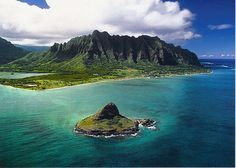 Chinaman's Hat is one of Oahu's most recognizable offshore islands, have you ever seen it?