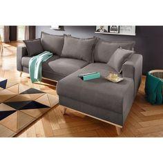 Canapé angle fixe à gauche ou à droite style scandinave 508€