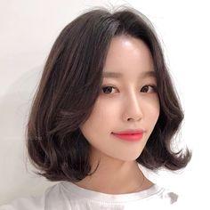 Hair Inspo, Hair Inspiration, Medium Hair Styles, Short Hair Styles, Korean Haircut, Perm, Bob Cut, My Hair, Korean Fashion