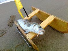 #spigola #barchinodivergente #sabbia