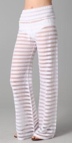 Nightcap Clothing Gauze Beach Pants - StyleSays
