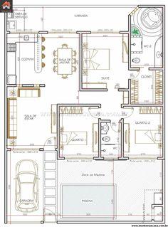 Casa 2 Quartos - 114.57m²