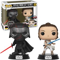 Kylo Ren and Rey - Star Wars - Rise of Skywalker Special Edition 2 Pack
