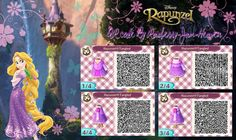 Disney's Rapunzel QR Code by Rasberry-Jam-Heaven