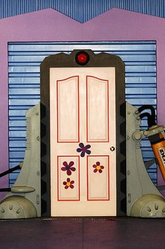 monsters inc door - Google Search totally would paint the kids bathroom doors on the inside to look like this!!!