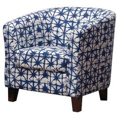 Portland Tub Chair - Filmore Azure