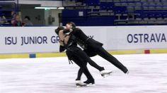 2016 ISU Junior Grand Prix - Ostrava - Short Dance Lorraine MCNAMARA / Q...