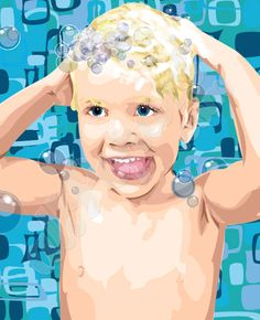 allpopart.com  Love their work!!!   Digging the boy-hair lil' b.